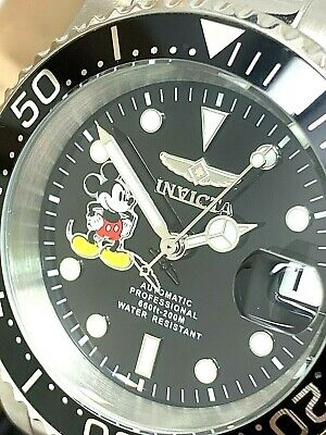 $ CDN249 • Buy Invicta Men's Watch 22777 Automatic Disney Mickey Mouse Limited Edition Diver
