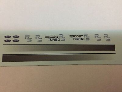 £2.65 • Buy 1/18 Scale Modified Tuning ESCORT MK3 RS TURBO  Waterslide Decal