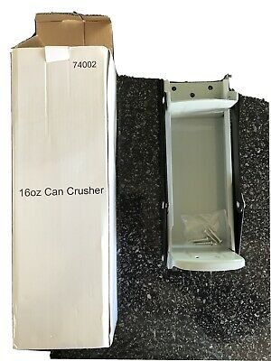 £5 • Buy 16oz 500ml Large Beer Tin Can Crusher Wall Mounted Recycling Tool Bottle Opener