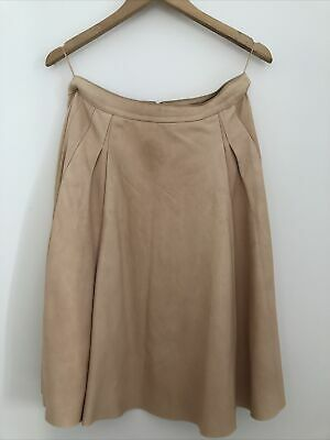 AU65 • Buy Scamlan Theodore Leather Skirt With Pockets - 10