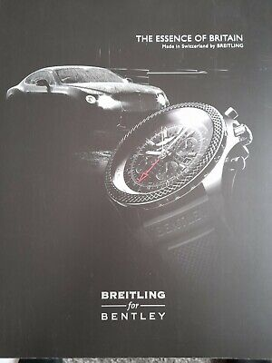 £8.50 • Buy Montres BREITLING BY BENTLEY Catalogue