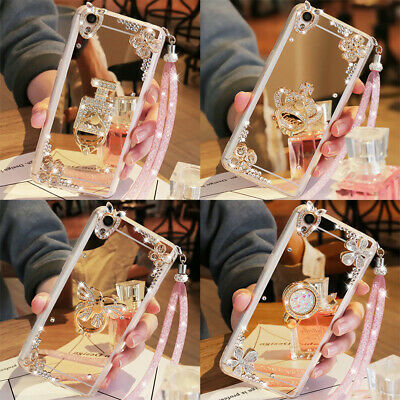 AU12.28 • Buy For IPhone 12 Pro Max XS Max XR 6 7 8 Bling Diamond Rhinestone Ring Holder Case