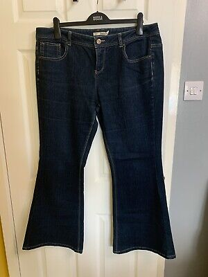 £5 • Buy Dorothy Perkins - Ladies Flared Jeans . Hardly Worn. Size 18r