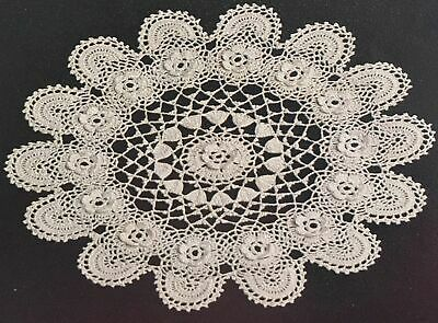 £1.89 • Buy FCh5 - Crochet Pattern - Two Cotton Lace Doily Place / Table Mats - 10  & 13
