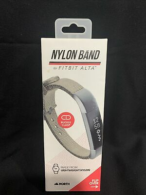 AU26.06 • Buy NEW SEALED - North Band For Fitbit Alta Nylon Adjustable W/ Buckle Clasp, Beige