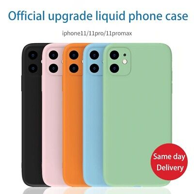 AU8.45 • Buy Liquid Silicone Case Camera Lens Cover For IPhone 12 11 Pro XS Max XR X 8 7 SE