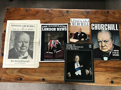 £9.95 • Buy Collection Of Tributes To Winston Churchill - Attic Find