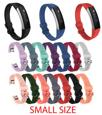 $ CDN5.16 • Buy Silicone Replacement Strap Sport Watch Wrist Band For Fitbit Alta HR ACE Small