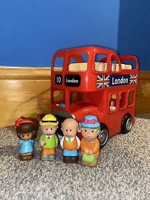 £2.80 • Buy **ELC Happyland London Bus Set With Figures & Fab Working Sounds**