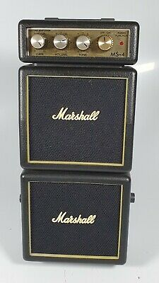 $ CDN51.69 • Buy Marshall MS-4 Micro Stack Electric Guitar Amp- Working Incl. Battery Used