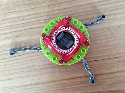 £3.50 • Buy LEGO RARE Ninjago Snappa & Crown Spinner Number 9564,with Chains.