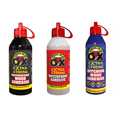 £5.25 • Buy Wood Glue Clear Water Resistant Extra Strong Interior Bond Non Foaming Adhesive