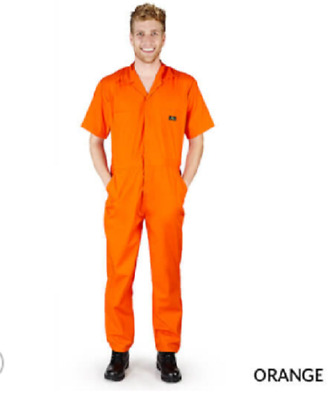 $29.99 • Buy Short Sleeve Coverall Jumpsuit Boilersuit Protective Work Gear XS To 4XL