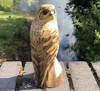 £35 • Buy Bespoke Chainsaw Owl / Eagle Carvings In Wood OW1336