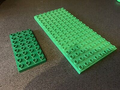 £9.99 • Buy LEGO DUPLO GREEN BASE BOARD PLATE 8x16 STUD And 8x4 PLATE