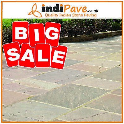 £525 • Buy Raj Green Calibrated Project Pack 20.70 M2 Indian Paving Sandstone BARGAIN