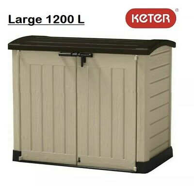 £239.90 • Buy Keter Store It Out Arc Plastic Garden Storage Box 1200L   FREE NEXT DAY DEL ✅📦