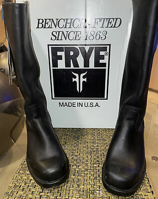 $199 • Buy Frye Mens Riding Boots, Made In Usa, Black , Size 9.5