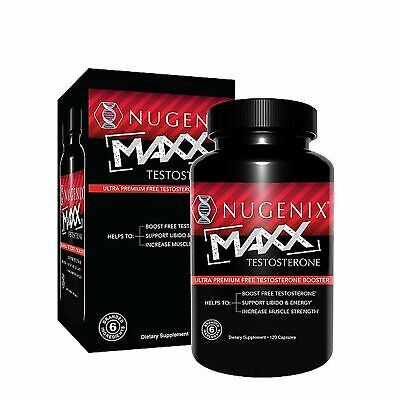 $109.99 • Buy NUGENIX MAXX Muscle Builder Testosterone Booster