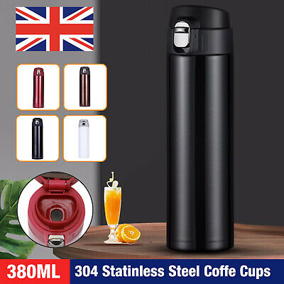 £6.99 • Buy Travel Thermal Stainless Steel Insulated Coffee Cup Mug Flask Vacuum Leakproof