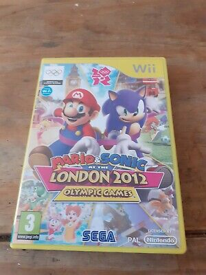 £5.99 • Buy Mario & Sonic At The London 2012 Olympic Games (Nintendo Wii, 2011) No Manual