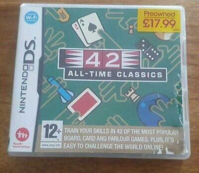 $ CDN4.29 • Buy 42 All Time Classics - Nintendo DS BOXED & Instructions | FREE POST