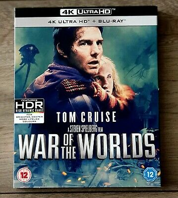 £4.19 • Buy War Of The Worlds 4K Ultra HD + Blu-Ray (Perfect Condition)