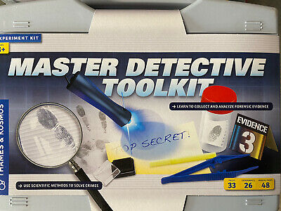 AU39.52 • Buy Thames & Kosmos Master Detective Toolkit   Forensic Science Experiment Kit      
