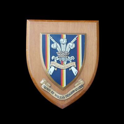 £29.99 • Buy 3rd Carabiniers (Prince Of Wales's Dragoon Guards) Wooden Shield Wall Plaque
