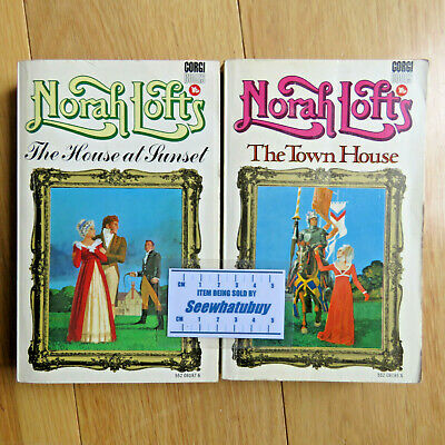£3.99 • Buy Norah Lofts X2 Books The Town House / The House At Sunset Paperback (PB) Books