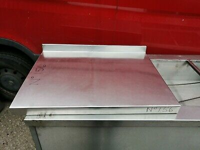 £75 • Buy No156 Stainless Steel  Table Top  800mm X 615mm X 110mm
