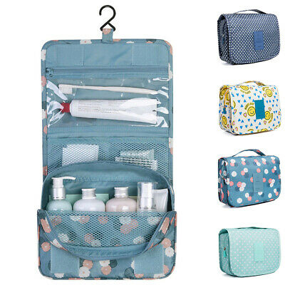 £6.48 • Buy New Womens Wash Bag Toiletry Handbag Hanging Travel Case Cosmetic Make Up Pouch