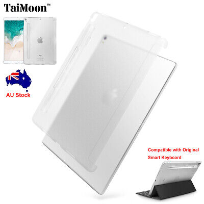 AU17.92 • Buy For IPad Pro 10.5 2017 Slim Matte Clear Back Case Cover Support Smart Keyboard