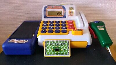 £9.99 • Buy Electronic Child's Play Cash Register With Light Up Scanner, Credit Card & Sound