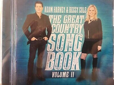AU8.55 • Buy ADAM HARVEY & BECCY COLE - The Great Country Songbook Vol 2 II CD 2017 AS NEW!