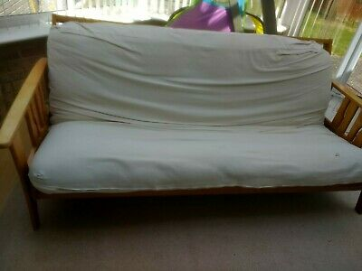 £40 • Buy Sofa Bed Double Wooden Frame
