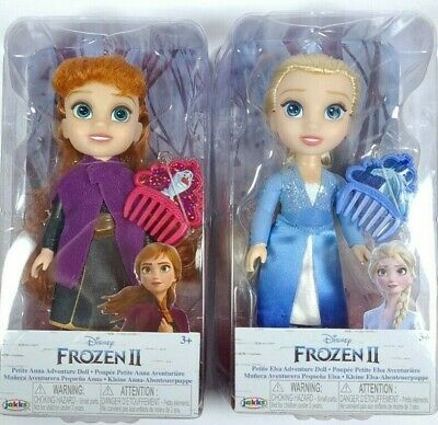 £29.99 • Buy Disney Frozen Petite Anna & Elsa Toddler Dolls, New In Boxes. Come Play With Me.