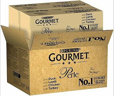 £34.90 • Buy Purina GOURMET Perle Chef's Collection, Wet Cat Food In Pouches, 96 X 85 G
