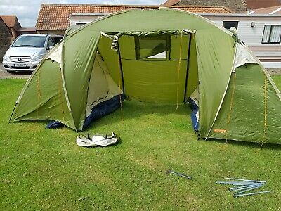 £100 • Buy Tent Family 4berth With Lights Beds Sleeping Bags