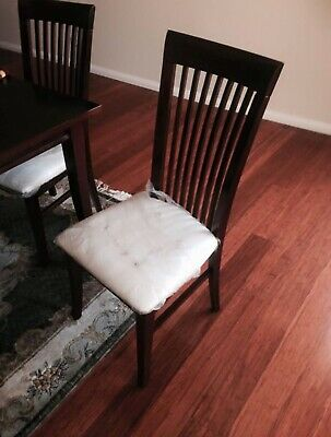 AU357 • Buy Dining Table And 6 Dining Chairs Set