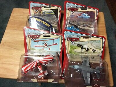 £25.32 • Buy Disney Cars Lot Of Four, Marco, Barney Stormin, Al Oft And Dinoco Helicopter Wor
