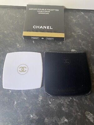 £30 • Buy Chanel White Double Facettes Mirror Bnib Limited Edition
