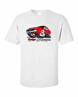 $23.99 • Buy 1968-1970 Dodge Charger Muscle Car Hemi Magnum T-shirt SINGLE OR DOUBLE Print 46