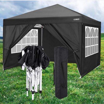 £179.99 • Buy New 3x3m Waterproof Pop Up Gazebo Garden Wedding Party Canopy Tent With 4 Sides