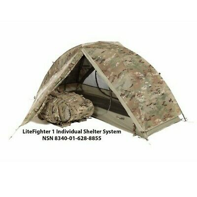 $179.95 • Buy LiteFighter® 1 Individual Shelter Army OCP Camo Tactical Military Solo Tent Camp