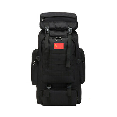 $28.99 • Buy 80L Outdoor Military Tactical Backpack Rucksack Camping Bag Travel Hiking Large