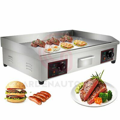 £115.99 • Buy 4400W Stainless Steel Commercial Electric Griddle Flat Counter Top 30  Surface
