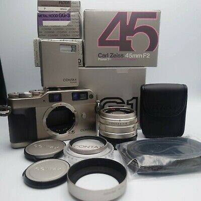 $ CDN1104.98 • Buy All Boxed [N Mint ] Contax G1 Green Label + 45mm F/2 + TLA140 + Strap From JAPAN