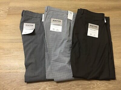$6.99 • Buy Mens Kenneth Cole Reaction Stretch Slim Fit Dress Pants All Sizes & Colors