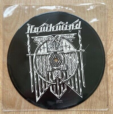 """£14.95 • Buy HAWKWIND Silver Machine 7"""" Picture Disc Liberty UPP 35381 1982 UK Mint FREE P&P"""